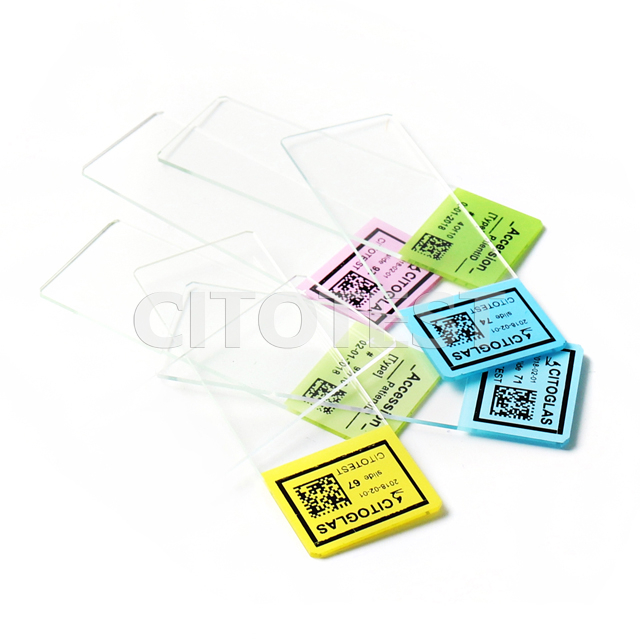 Color-PLUS PCI Microscope Slides