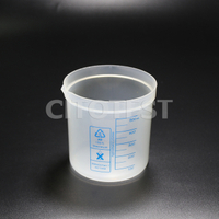 Beaker with Printed Graduation, PP Material