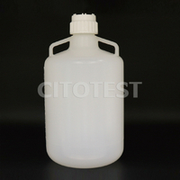 Carboy with Handle, PP Material, PP Screw Closure with TPE Liner