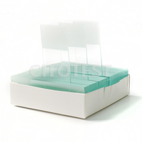 Double Frosted Microscope Slides