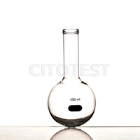 Boiling Flask, Glass Material