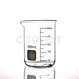Low Form Beaker, Glass Material